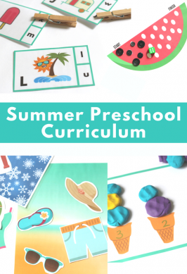 Summer Preschool Lesson Plans and Curriculum