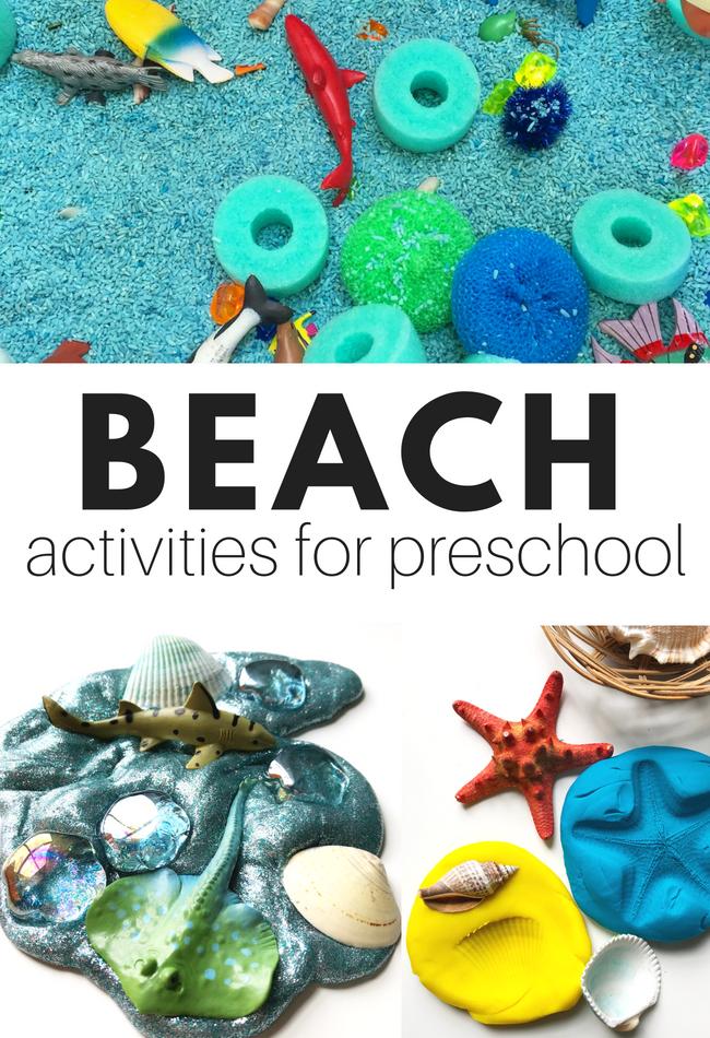 beach sensory activities for preschool