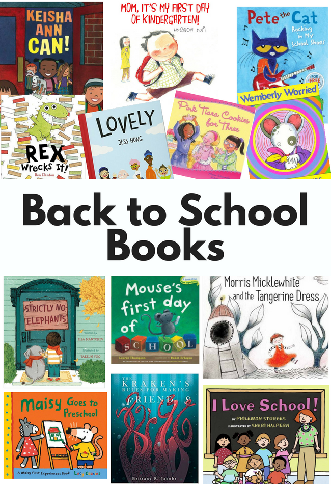 20 Awesome Back To School Books No Time For Flash Cards