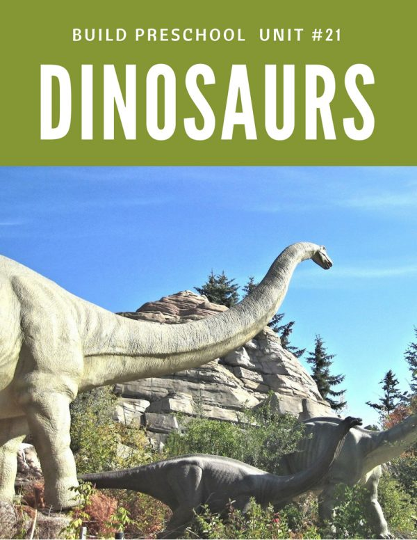 preschool lesson plan about dinosaurs
