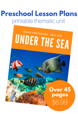 Under The Sea Theme Lesson Plans