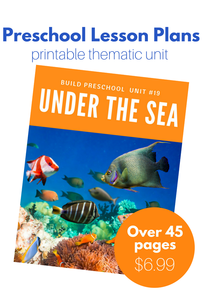 27 Ocean Activities For Preschool No Time For Flash Cards