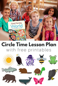 interactive circle time lesson plan