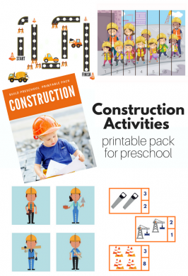Construction theme for preschool