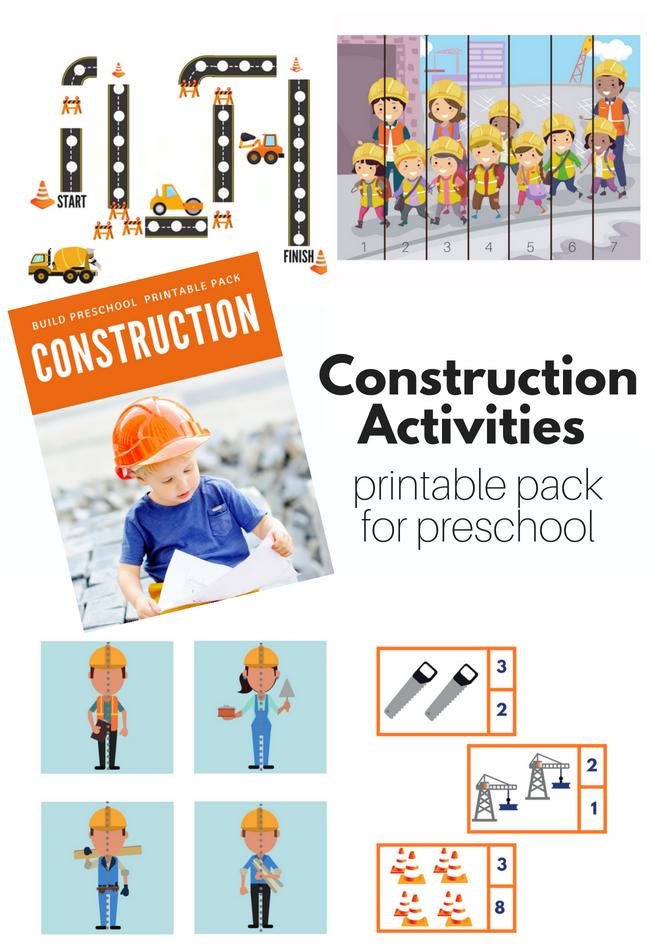 Construction theme for preschool