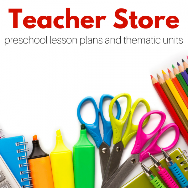 preschool lesson plans and thematic units for sale