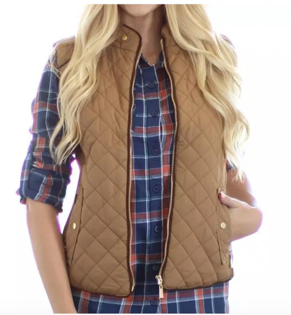 puffer vest for school