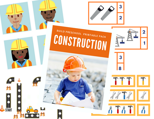 construction theme preschool