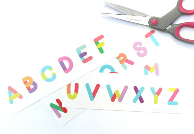 Preschool Alphabet Activities from The Dollar Spot - No Time