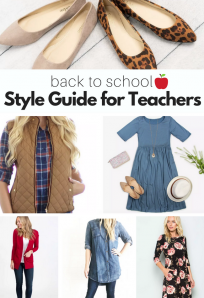 Clothes and accessories for preschool teachers teacher fashion