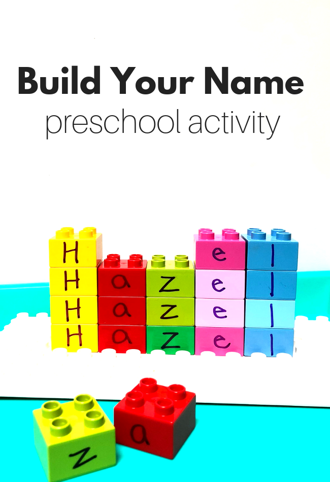 name recognition activities for preschool