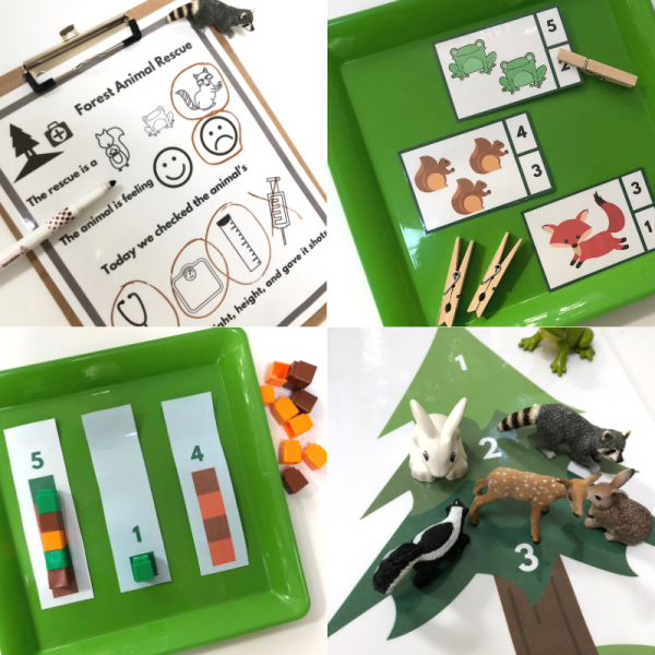 forest theme activity for preschool