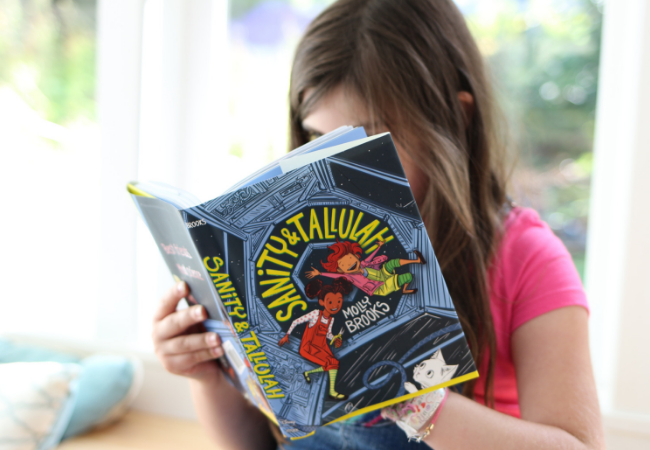 graphic novels for tweens about STEM