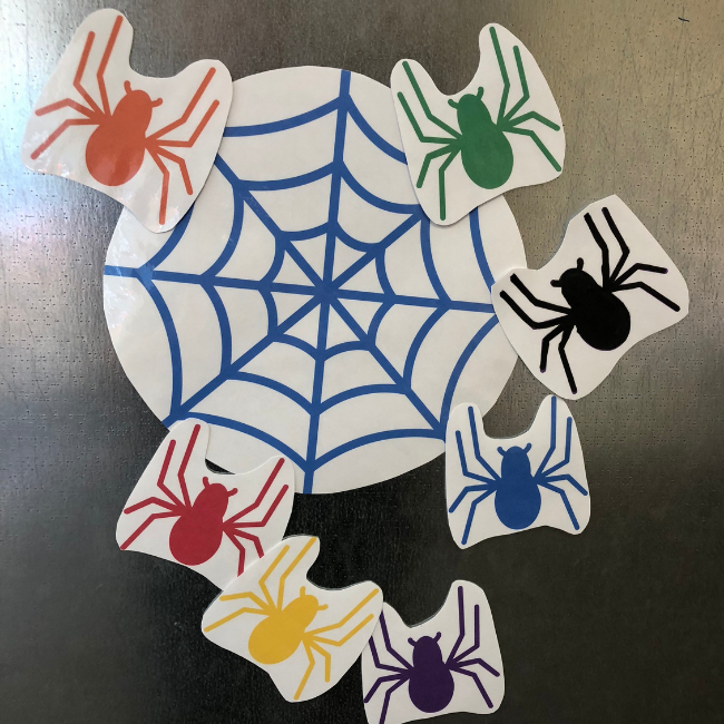 Spider Themed Circle Time Activity with Free Printables - No