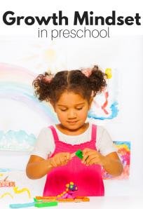 Growth mindset at preschool
