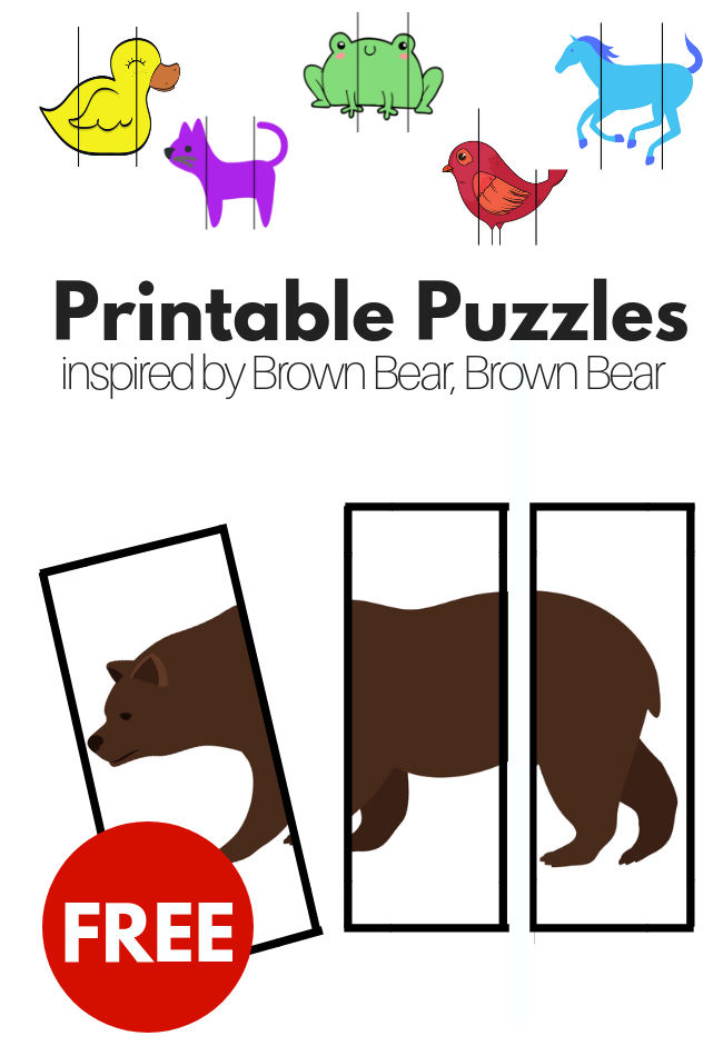 graphic about Printable Bears Schedule called Totally free Printable Puzzles impressed via Brown Endure, Brown Undergo