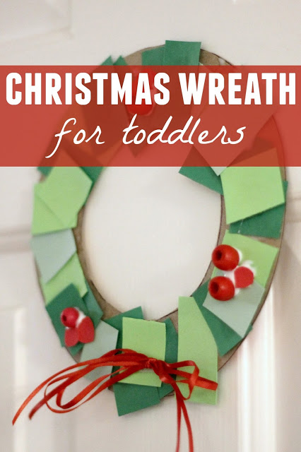 9 Christmas Wreath Crafts For Preschool No Time For Flash Cards