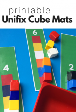 Printable Unifix Cube Mats
