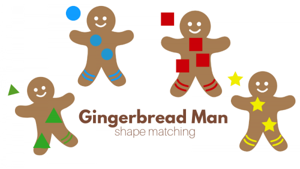 gingerbread man circle time