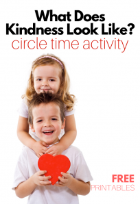 circle time lesson for preschool