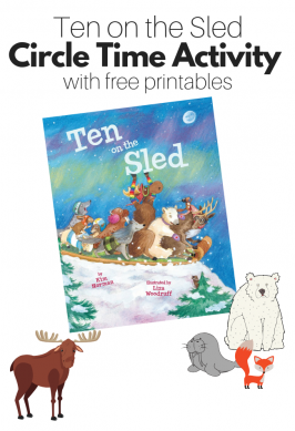 Ten On The Sled – Free Printables for Circle Time
