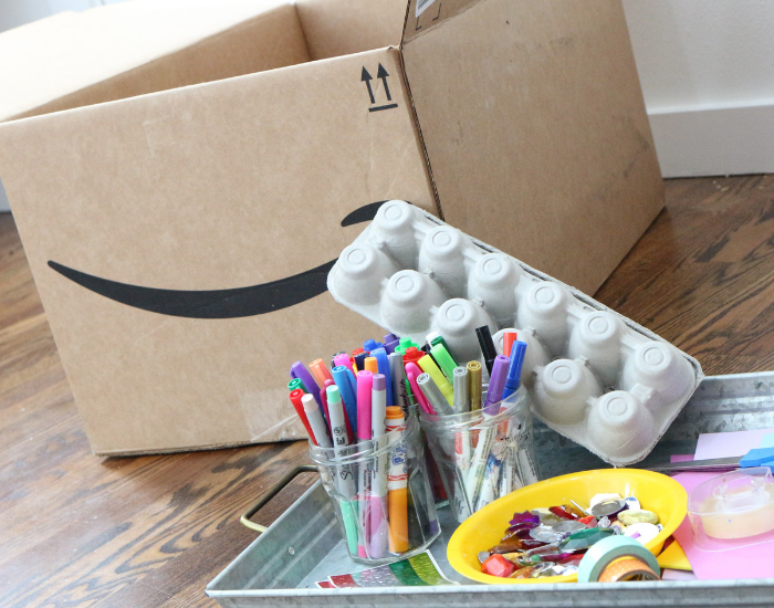 What Can You Do With An Empty Box? Creative Activity for
