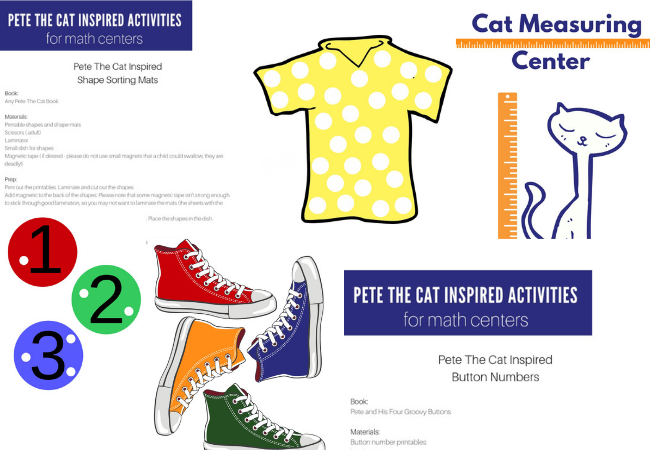 photograph relating to Pete the Cat Printable identify Pete The Cat Influenced Printables for Preschool - No Season For