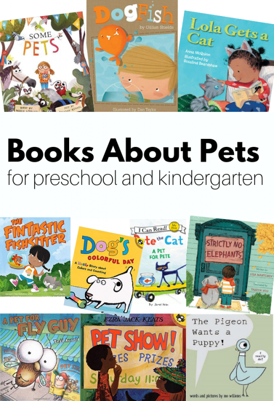 picture books about pets for children #booklists #preschool #pets #ece