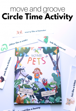 Some Pets Circle Time Activity
