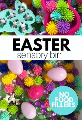 NO Food – Easter Sensory Bin