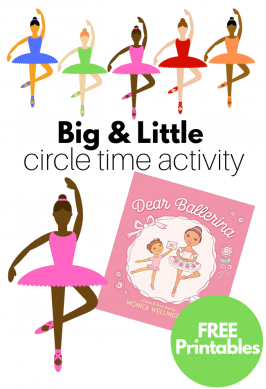 Big & Little Circle Time Lesson with Free Printables