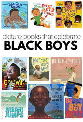 Picture Books That Celebrate Black Boys
