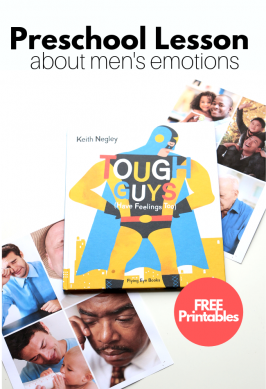 Preschool Lesson About Men's Emotions