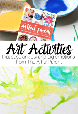 Art Activities To Ease Anxiety and Big Emotions with The Artful Parent by Jean Van't Hul