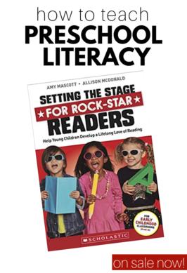 How To Teach Preschool Literacy