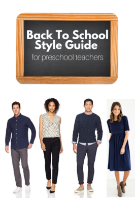 back to school style guide for teachers