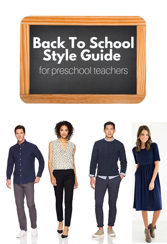 Back To School Style Guide For Preschool Teachers No Time For Flash Cards