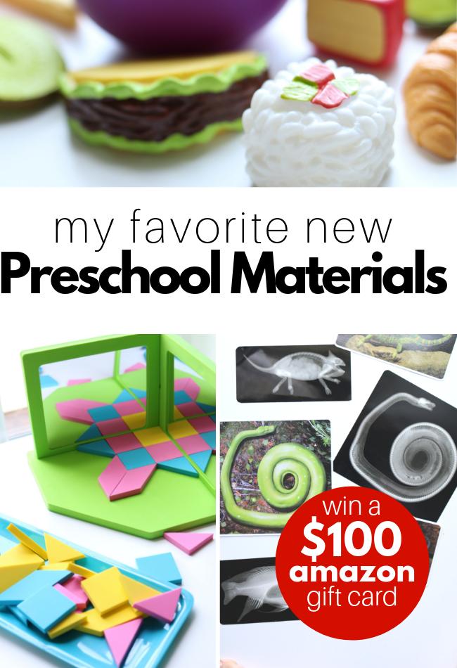preschool materials for classrooms