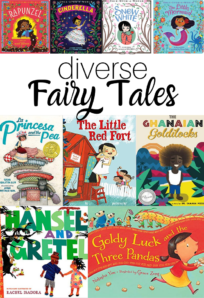 racially diverse fairy tales for kids
