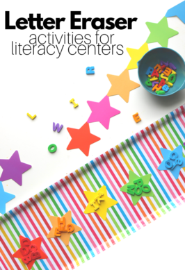 letter activities for preschool and kindergarten literacy center activities
