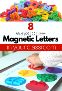 letter magnet activities for preschool