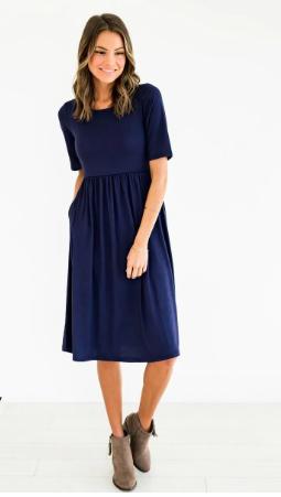 cotton dress for teachers