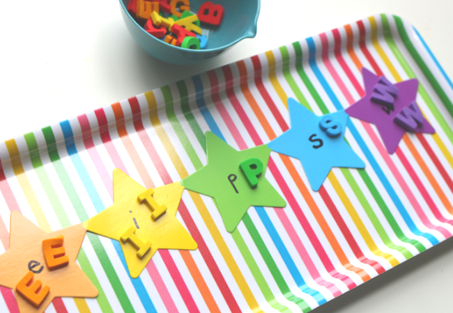 upper and lowercase letter matching literacy center activity