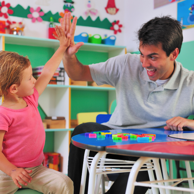 building relationships in preschool