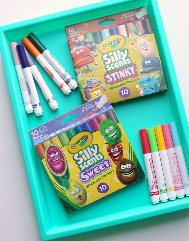 Sense Of Smell Activity With Crayola S New Silly Scents