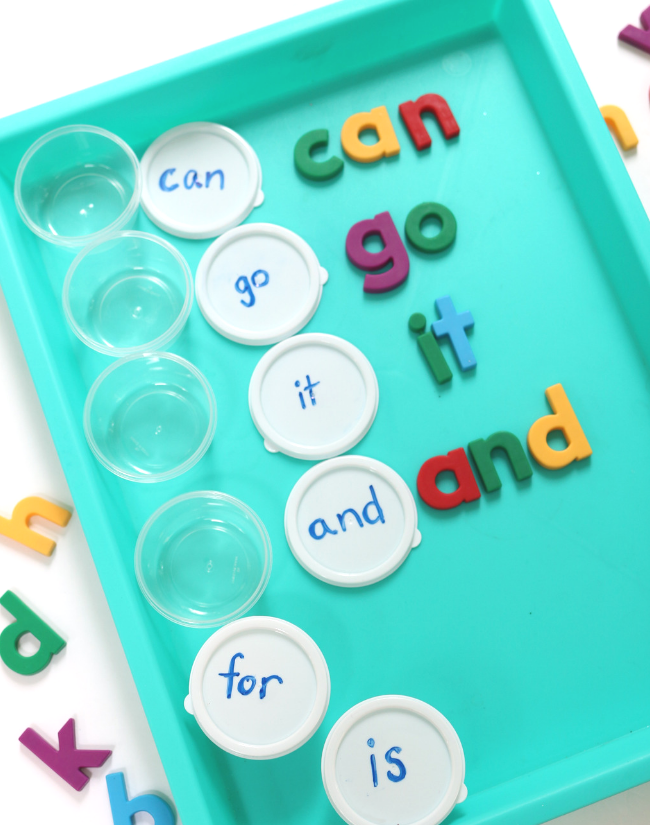 sight word activities for homeschool