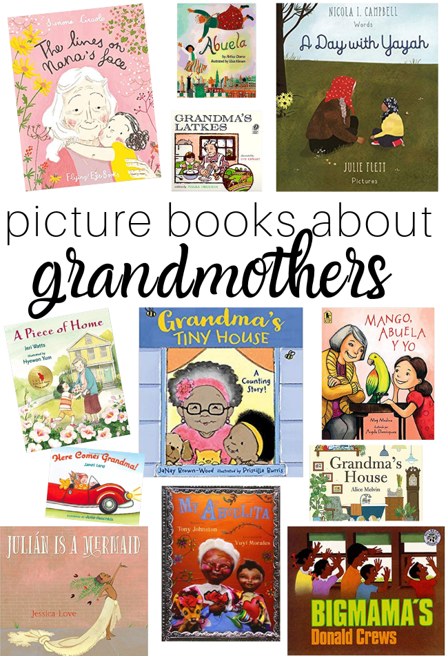 diverse family books inclusive book list grandmothers
