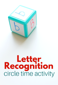 letter recognition group activity for preschool