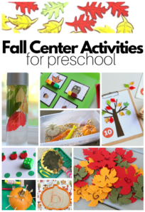 fall theme preschool