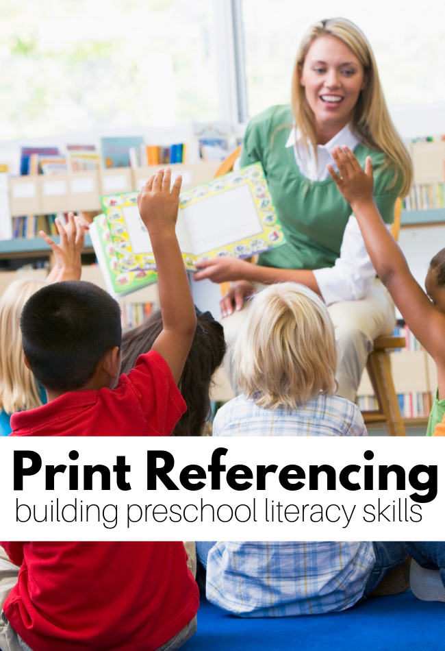 print preferencing early literacy skill